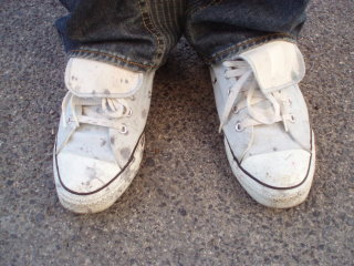 ソメット靴染色前