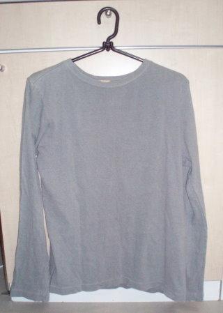 元の長袖シャツ