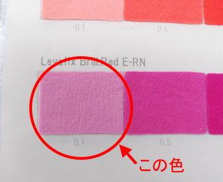 目指すはこの色
