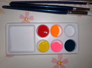 1パレットに色をだす